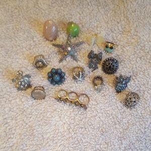 Bundle of 16 rings